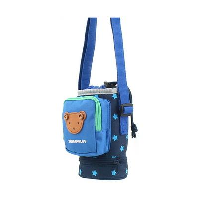 모모앨리 물병 크로스백 곰돌이 모양 어린이 가방