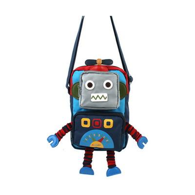플라이봇 플레이 크로스백 로봇 인형 미니백