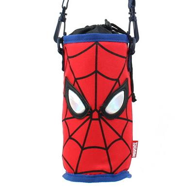 스파이더맨 페이스 물병 크로스백 마블 캐릭터 가방