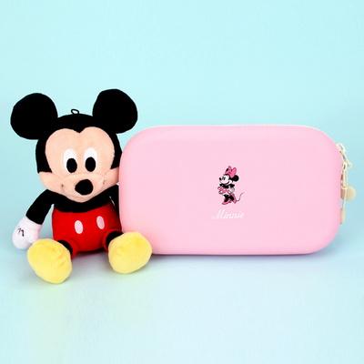 미니포인트 실리콘 파우치 디즈니 핑크 필통 MK0289