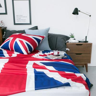 영국 국기 기능성 여름이불 (블루)