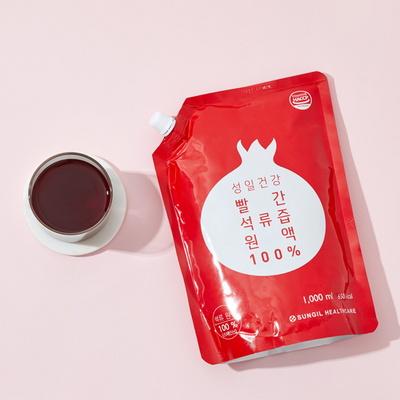 빨간 석류즙 원액 100% 1000ml
