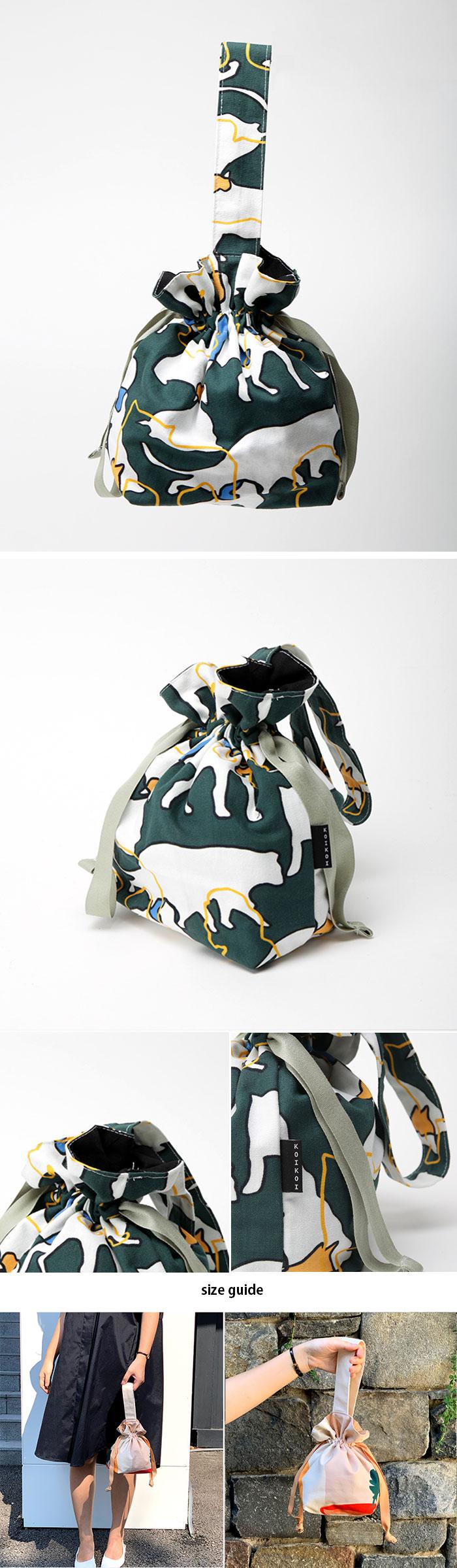 Shilluette mini string bag - 코이코이, 28,000원, 캔버스/에코백, 에코백