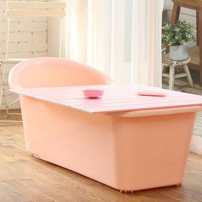 쉼표 하나 핑크 반신욕조 덮개 온도계 시계 풀세트