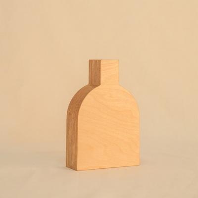 오니프 우드 화병 꽃병 onif vase01