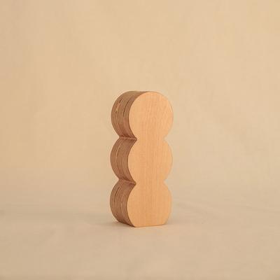 오니프 우드 화병 꽃병 onif vase02