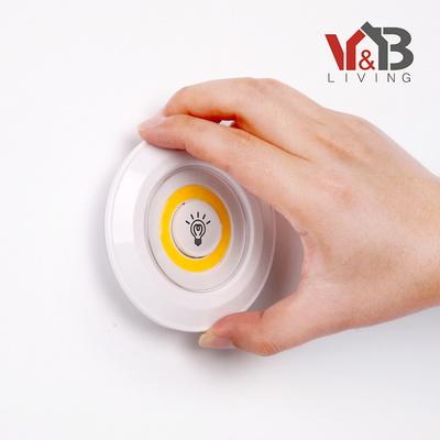 LED 터치라이트 퍽라이트 세트(LED등 3P+리모컨1P)