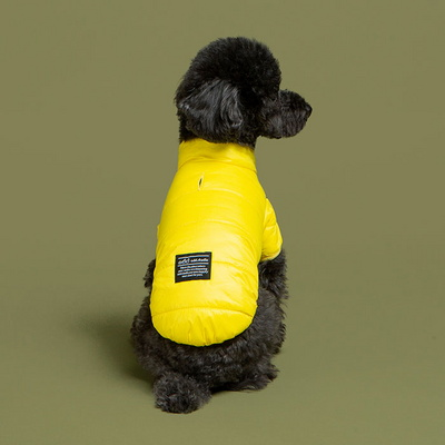 오드펫 맥스웜 초경량 패딩 자켓 - 옐로우