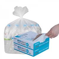 클린업 분리수거 쓰레기 비닐봉투_80L(40매) 1+1