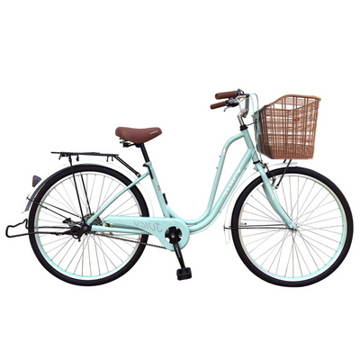 쥬시 클래식 26인치 여성용자전거 시마노허브 알루미늄핸들