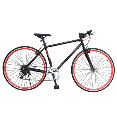 캣츠 하이브리드7단 자전거 700C 컬러이중림 출퇴근용
