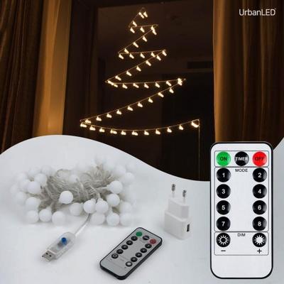 어반 LED 앵두전구 50구 USB형