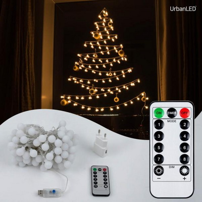 어반 LED 앵두전구 100구 USB형