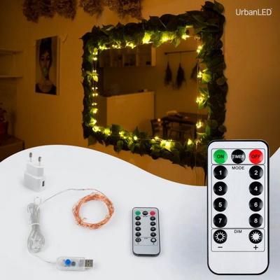 어반 LED 와이어전구 USB형 구리선