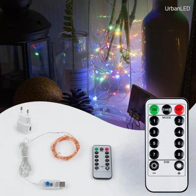 어반 LED 와이어전구 USB형 구리선 컬러