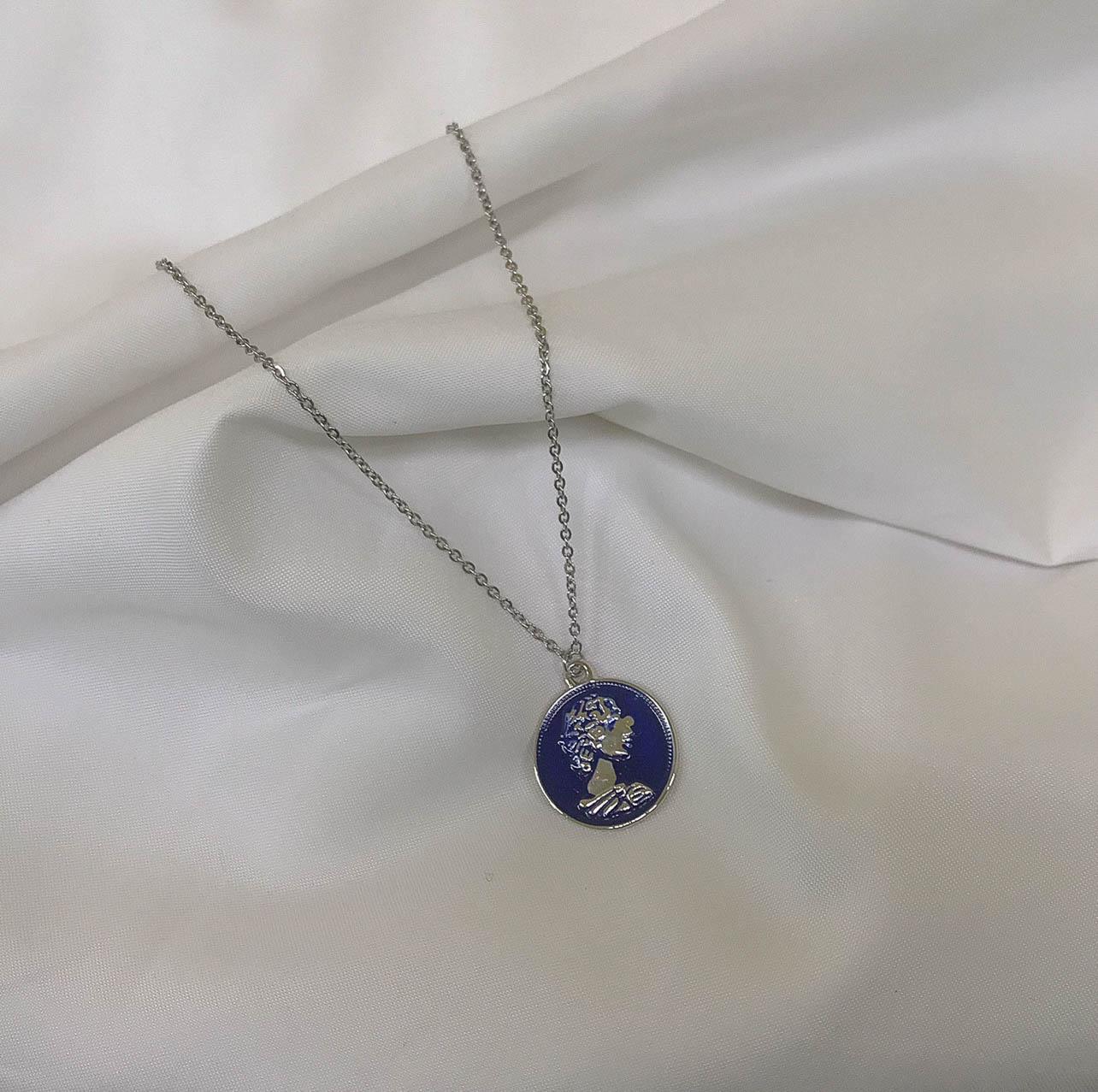 Antique blue blue blue - 문라이츠, 15,000원, 실버, 펜던트목걸이