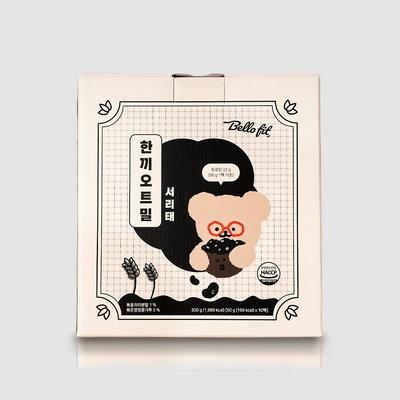 벨로핏 한끼오트밀 프로틴 서리태 50g x 10팩
