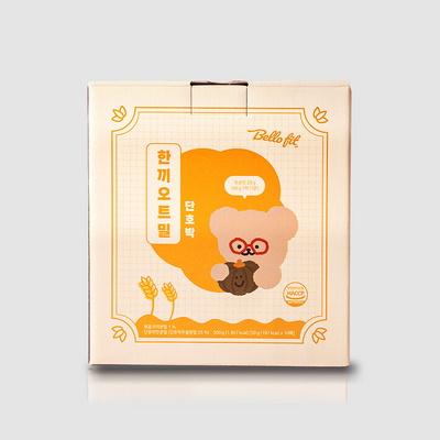 벨로핏 한끼오트밀 프로틴 단호박 50g x 10팩