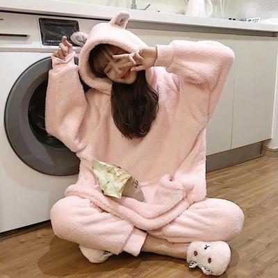 깡총 토끼 파자마 극세사 수면잠옷(mset1143)