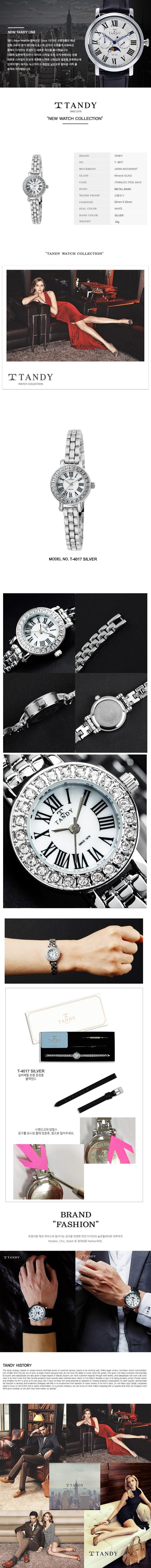 탠디 모던클래식 여성용 메탈시계 T-4017 - 탠디, 65,600원, 여성시계, 메탈시계