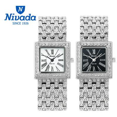 NIVADA 여성용 쥬얼 메탈 시계