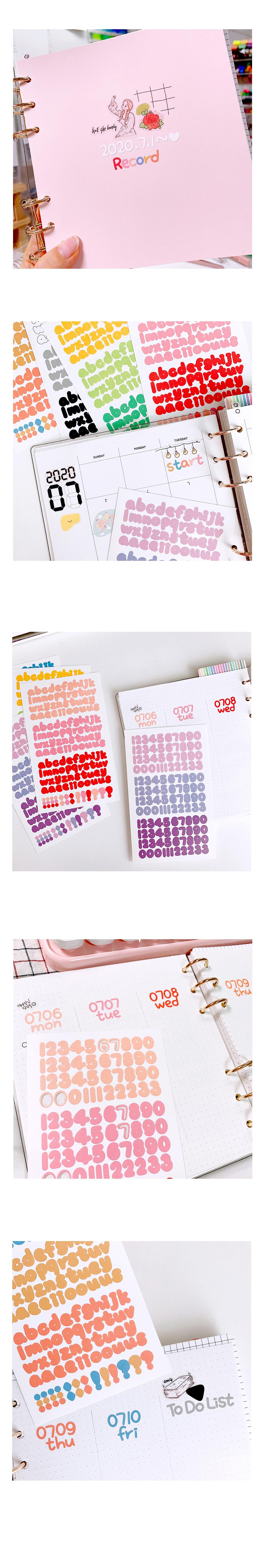 (15종세트) 3컬러 손글씨 알파벳 숫자 씰스티커24,000원-랄라예나디자인문구, 데코레이션, 스티커, 문자/숫자 스티커바보사랑(15종세트) 3컬러 손글씨 알파벳 숫자 씰스티커24,000원-랄라예나디자인문구, 데코레이션, 스티커, 문자/숫자 스티커바보사랑