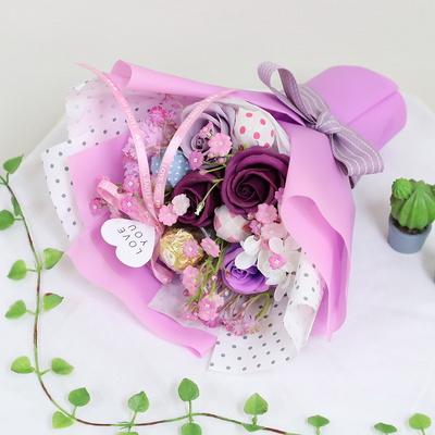 화이트데이 기념일 선물 캔디 아이스크림 사탕꽃다발