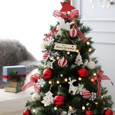 크리스마스트리 모나코레드 1.3M 풀세트