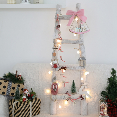 크리스마스트리 자작 사라디트리 핑크