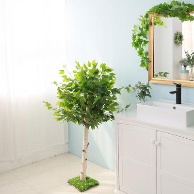 인조나무 조화나무 인테리어조화 킹벤자민 나무 130cm