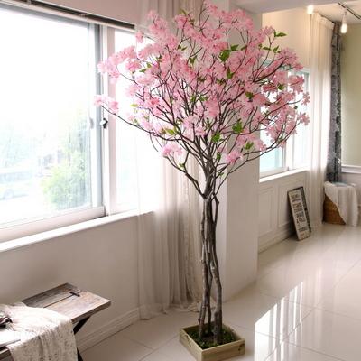 인조나무 조화나무 인테리어조화 내츄럴 구름벚꽃나무 210 사방형