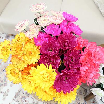 3+2행사 인테리어 성묘꽃조화 12대 국화 조화꽃다발 고급조화꽃