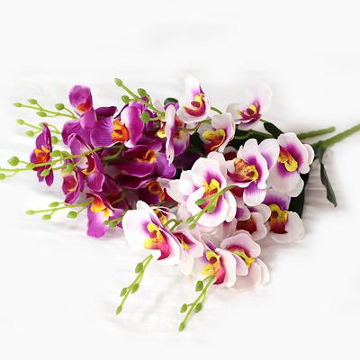 3+2행사 인테리어 성묘꽃조화 양난 조화꽃다발 고급조화꽃