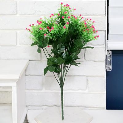 3+2행사 인테리어 성묘꽃조화 안개부쉬 조화꽃다발 고급조화꽃