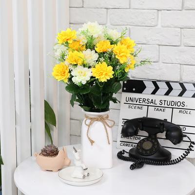 3+2행사 인테리어 성묘꽃조화 쏠데이지 조화꽃다발 고급조화꽃