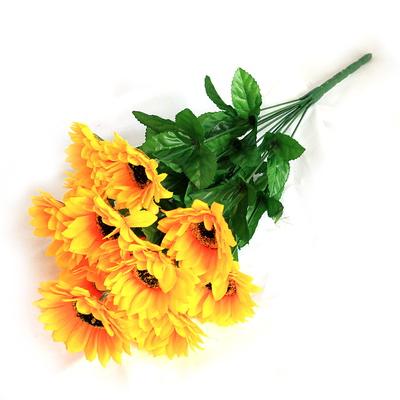 3+2행사 인테리어 성묘꽃조화 12대 해바라기 조화꽃다발 고급조화꽃