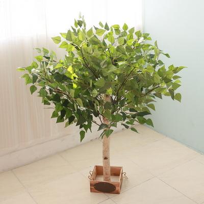 인조나무 조화나무 인테리어조화 조화나무 자작나무 100cm