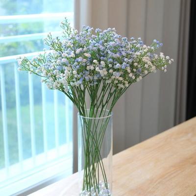 안개꽃 조화 가지(5pcs) 블루