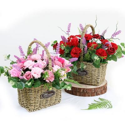 어버이날 비누꽃 선물 보오스꼬 카네이션 대형바구니