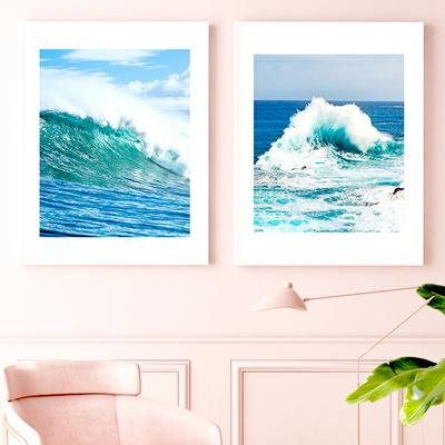파도 바다 시원 포스터 카페 홈 인테리어 액자 10종