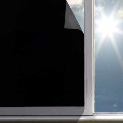 무점착 암막시트지 블랙아웃 창문에 붙이는 블라인드