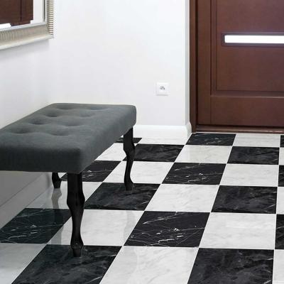 간편한 접착식 리폼 점착 바닥시트지 체스