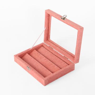 드림스 귀걸이 보석함(핑크)(20x15cm)
