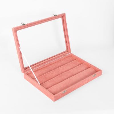 드림스 귀걸이 보석함(핑크)(35x34cm)