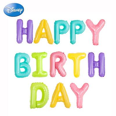 (미키미니생일이니셜세트)생일 파티 은박풍선 장식