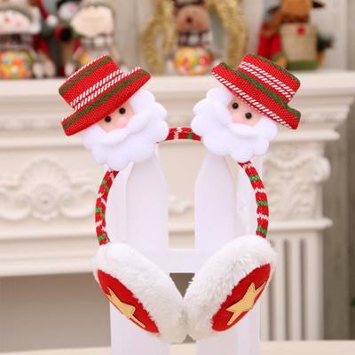 고급크리스마스머리띠(귀마개산타) 성탄절 파티 선물