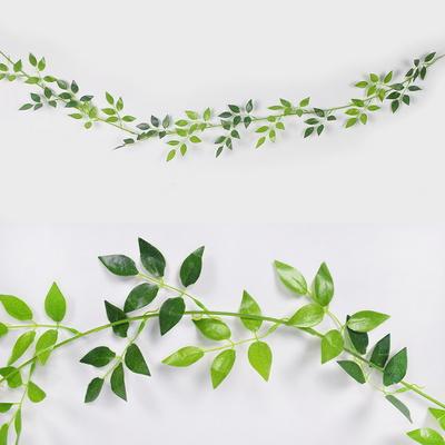 유칼립투스나뭇잎가랜드(타원잎)1.8M 파티 장식