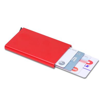 자동 슬라이드 카드지갑 명함지갑 수납케이스 여성