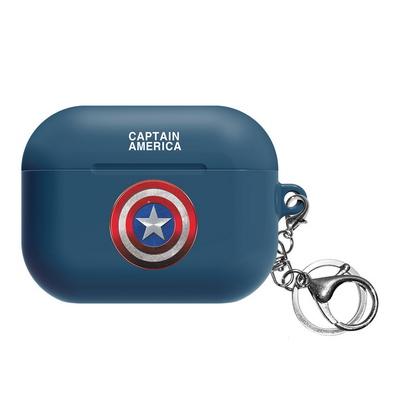 마블 히어로 심볼 에어팟프로 케이스 캡틴아메리카
