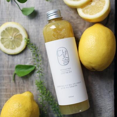 다솔 리얼 레몬 시럽